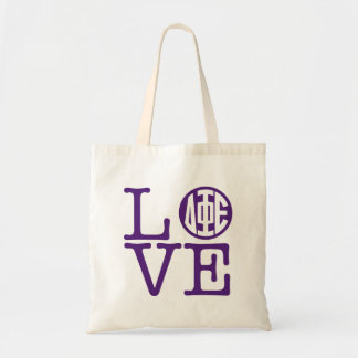 Delta Phi Epsilon Love Tote Bag
