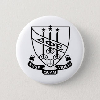 Delta Phi Epsilon Shield 6 Cm Round Badge