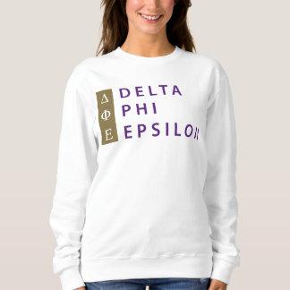 Delta Phi Epsilon Stacked Sweatshirt