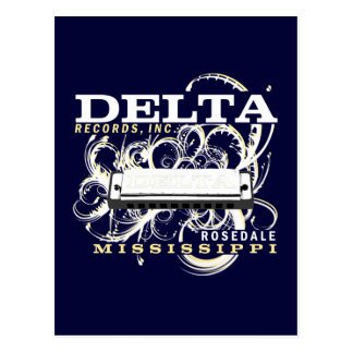 Delta Records Inc Postcard