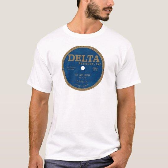 Delta Records label T-Shirt