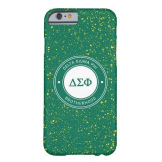 Delta Sigma Phi | Badge Barely There iPhone 6 Case