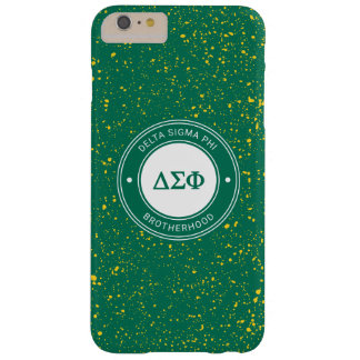 Delta Sigma Phi   Badge Barely There iPhone 6 Plus Case