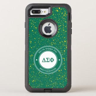 Delta Sigma Phi   Badge OtterBox Defender iPhone 8 Plus/7 Plus Case