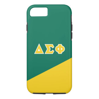 Delta Sigma Phi | Greek Letters iPhone 7 Case