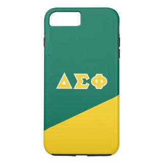 Delta Sigma Phi   Greek Letters iPhone 8 Plus/7 Plus Case