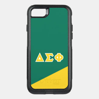 Delta Sigma Phi | Greek Letters OtterBox Commuter iPhone 8/7 Case