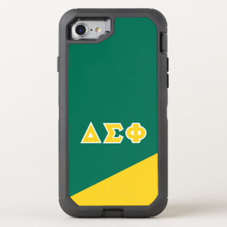 Delta Sigma Phi | Greek Letters OtterBox Defender iPhone 8/7 Case