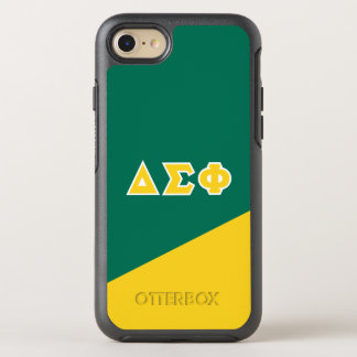 Delta Sigma Phi | Greek Letters OtterBox Symmetry iPhone 8/7 Case