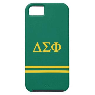 Delta Sigma Phi | Sport Stripe Tough iPhone 5 Case