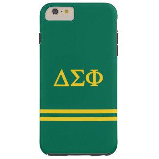 Delta Sigma Phi | Sport Stripe Tough iPhone 6 Plus Case