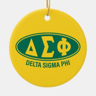 Delta Sigma Phi | Vintage Christmas Ornament