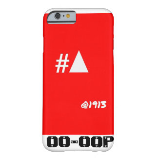 Delta Sigma Theta iPhone 6 case- #Pyramid @1913 Barely There iPhone 6 Case
