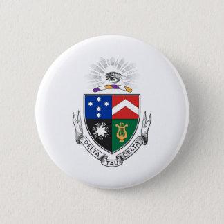 Delta Tau Delta Coat of Arms 6 Cm Round Badge