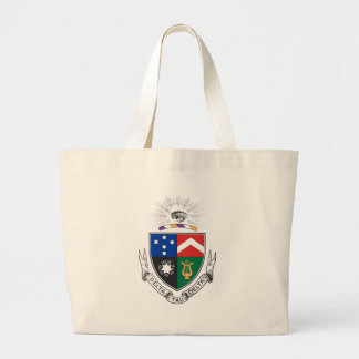 Delta Tau Delta Coat of Arms Large Tote Bag