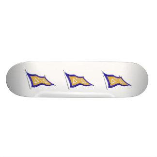 Delta Tau Delta Flag Custom Skate Board