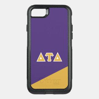 Delta Tau Delta | Greek Letters OtterBox Commuter iPhone 8/7 Case