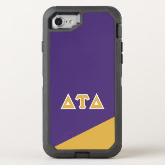 Delta Tau Delta | Greek Letters OtterBox Defender iPhone 8/7 Case