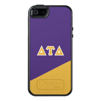 Delta Tau Delta | Greek Letters OtterBox iPhone 5/5s/SE Case