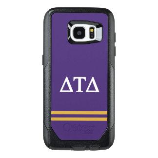 Delta Tau Delta | Sport Stripe OtterBox Samsung Galaxy S7 Edge Case