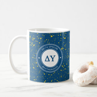 Delta Upsilon | Badge Coffee Mug