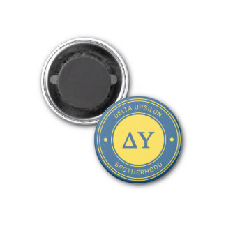 Delta Upsilon | Badge Magnet