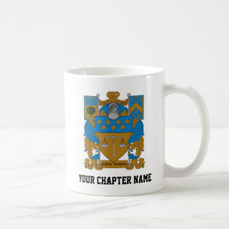 Delta Upsilon Coat of Arms Coffee Mug