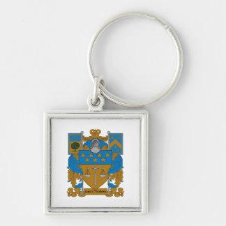 Delta Upsilon Coat of Arms Key Ring