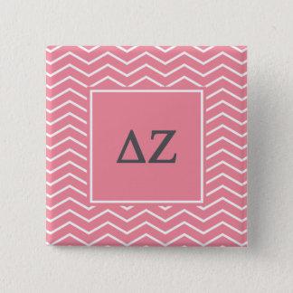 Delta Zeta | Chevron Pattern 15 Cm Square Badge