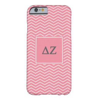 Delta Zeta | Chevron Pattern Barely There iPhone 6 Case