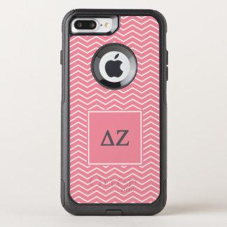 Delta Zeta | Chevron Pattern OtterBox Commuter iPhone 7 Plus Case