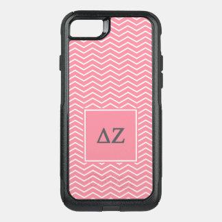Delta Zeta | Chevron Pattern OtterBox Commuter iPhone 8/7 Case