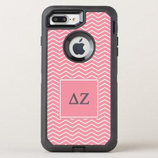Delta Zeta | Chevron Pattern OtterBox Defender iPhone 7 Plus Case