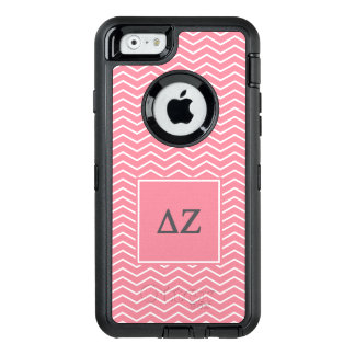 Delta Zeta   Chevron Pattern OtterBox Defender iPhone Case