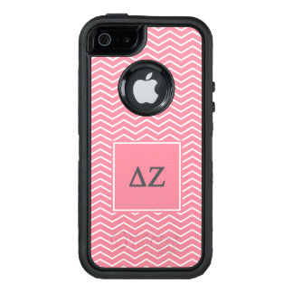 Delta Zeta | Chevron Pattern OtterBox Defender iPhone Case
