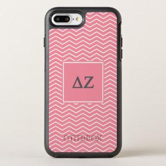 Delta Zeta | Chevron Pattern OtterBox Symmetry iPhone 7 Plus Case