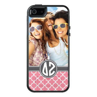 Delta Zeta | Monogram and Photo OtterBox iPhone 5/5s/SE Case