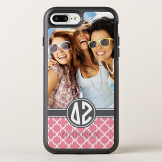 Delta Zeta | Monogram and Photo OtterBox Symmetry iPhone 7 Plus Case