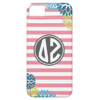Delta Zeta | Monogram Stripe Pattern Barely There iPhone 5 Case