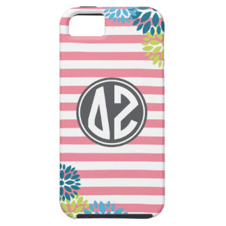 Delta Zeta | Monogram Stripe Pattern iPhone 5 Cover