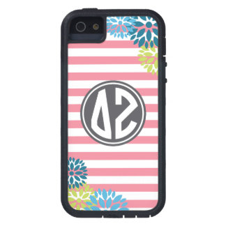 Delta Zeta | Monogram Stripe Pattern Tough Xtreme iPhone 5 Case