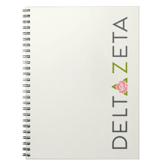 Delta Zeta Primary Logo Notebooks