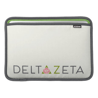 Delta Zeta Primary Logo Sleeve For MacBook Air