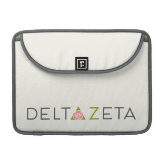 Delta Zeta Primary Logo Sleeve For MacBook Pro