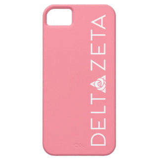 Delta Zeta Primary Logo White iPhone 5 Covers