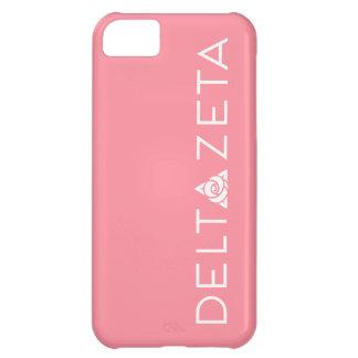 Delta Zeta Primary Logo White iPhone 5C Case