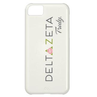 Delta Zeta Primary Logo with Promise iPhone 5C Case