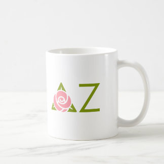 Delta Zeta Rose Icon Coffee Mug