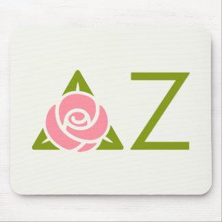 Delta Zeta Rose Icon Mouse Mat
