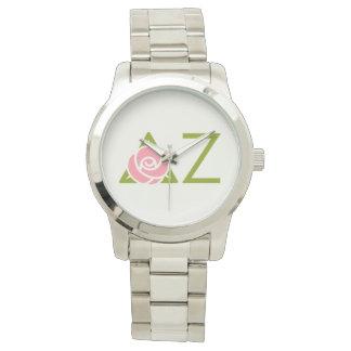 Delta Zeta Rose Icon Watch